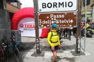 RIDING ACROSS THE FAMOUS PASSES OF THE GIRO D'ITALIA: